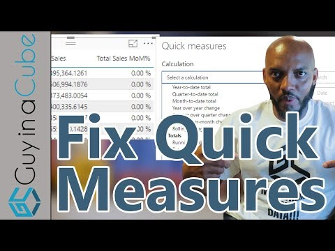 Fixing Power BI Quick Measures