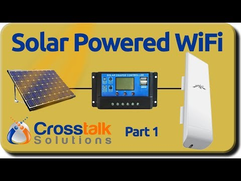 Solar Powered WiFi