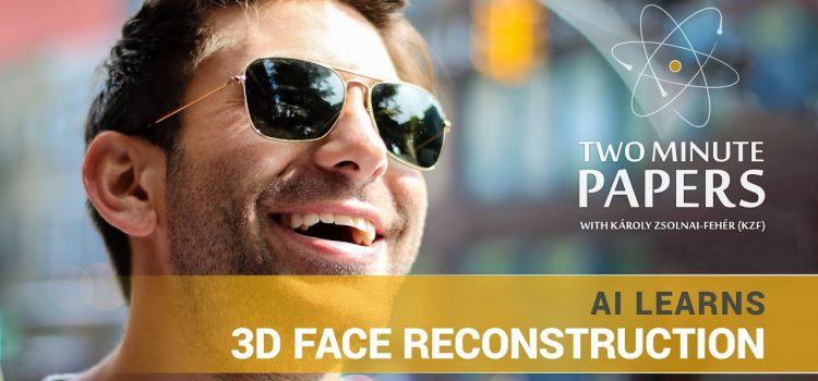 AI Learns 3D Face Reconstruction
