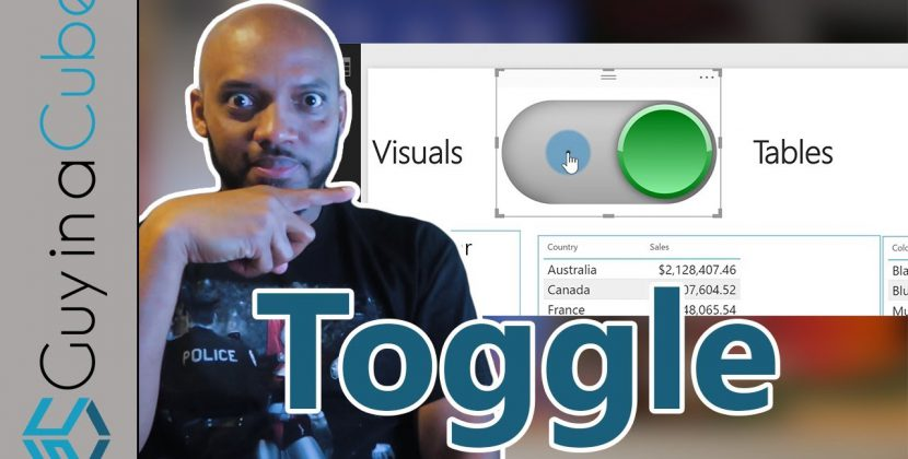 Power BI Bookmarks, Selections and Toggles