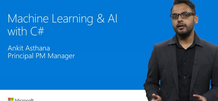 Machine learning and AI with .NET