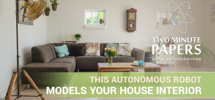 Autonomous Robot That Models Your Home Interior