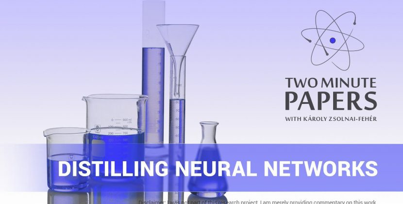 Distilling Neural Networks