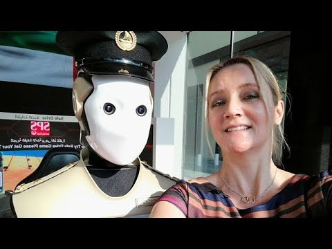 Can Dubai Use Robots to Police?