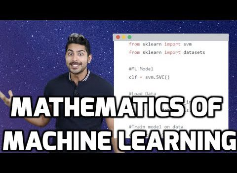 The Math of Machine Learning