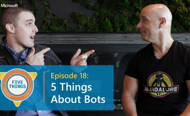 Five Things About Bots