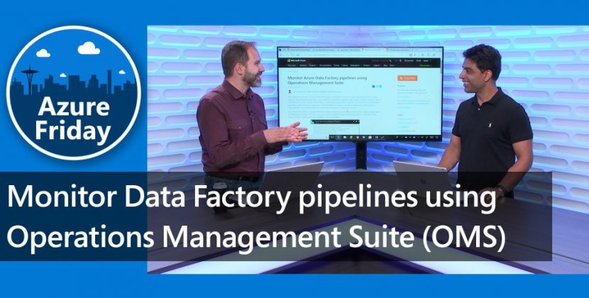 Monitor Azure Data Factory Pipelines with OMS