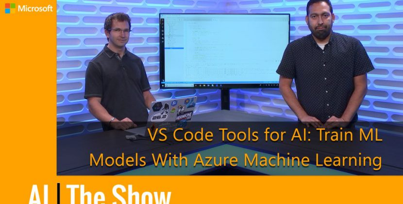Train Machine Learning Models with Azure ML in VS Code