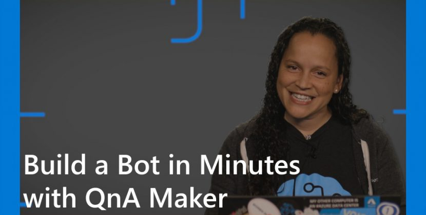 Build a Bot in Minutes with QnA Maker
