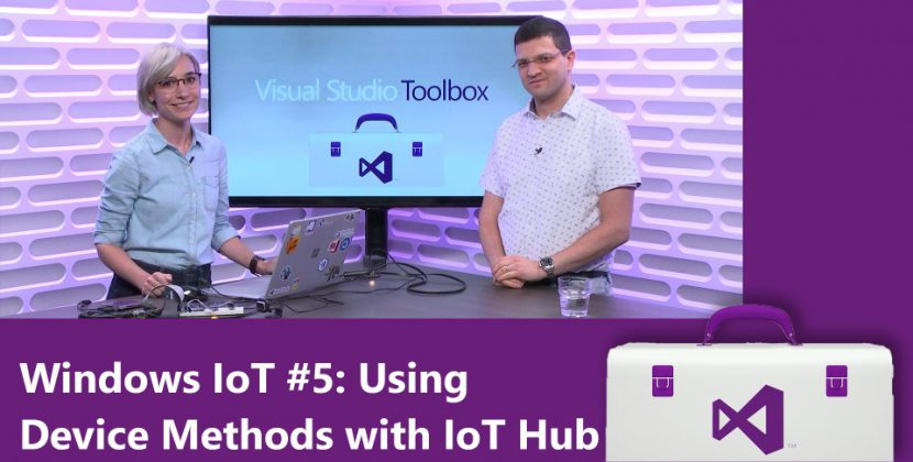 Using Device Methods with IoT Hub