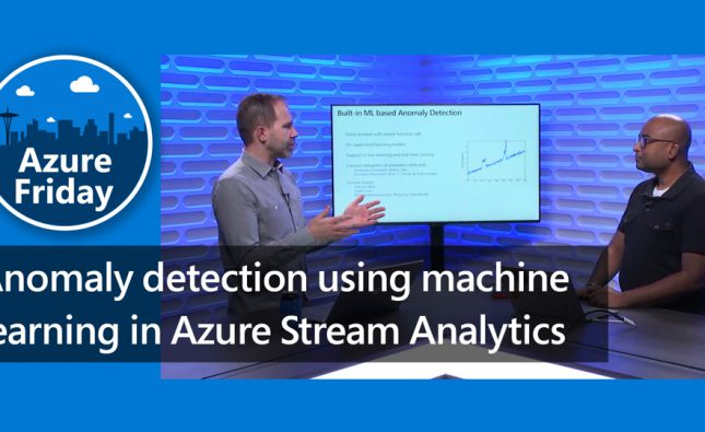 Anomaly Detection in Azure Stream Analytics