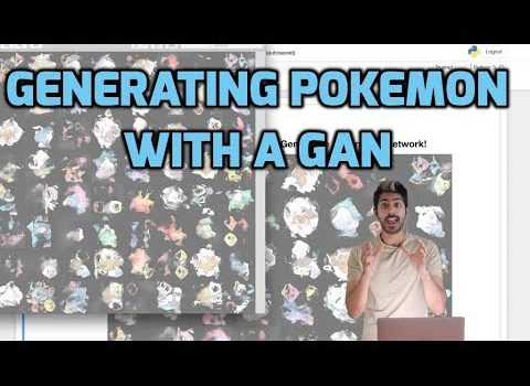 Generating Pokemon with a Generative Adversarial Network