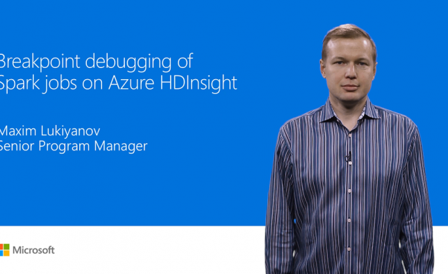 Debugging Spark Jobs in Azure HDInsight