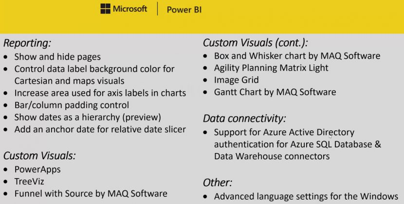 Power BI Desktop January 2018 Update