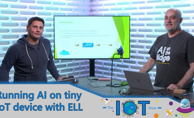 Running AI on IoT Microcontrollers Devices with ELL