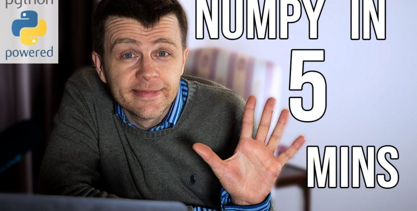 Numpy in 5 Minutes