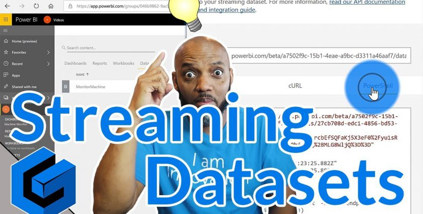 Create a Power BI Streaming Dataset for Real-Time Dashboards
